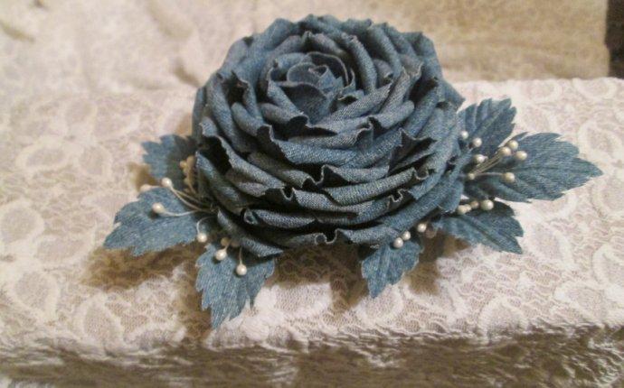 цветы из джинсы - Самое интересное в блогах