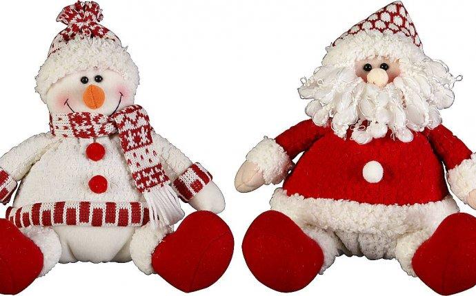 игрушка дед мороз под елку своими руками