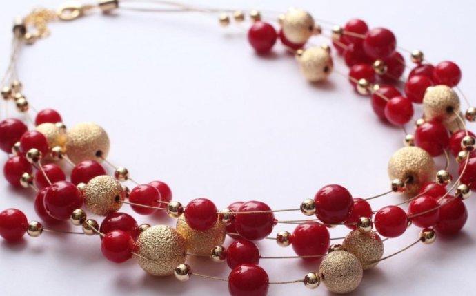 Подарок красивые бусы своими руками — OndoShop.ru