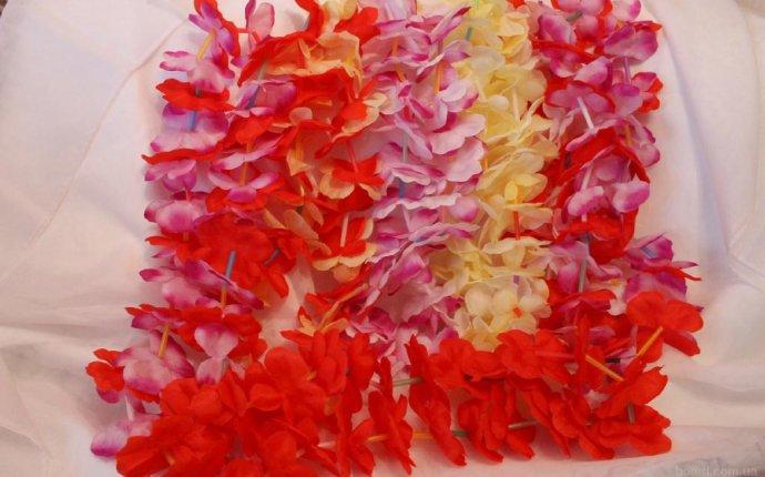 Венок для гавайской вечеринки своими руками — Restovoz.ru