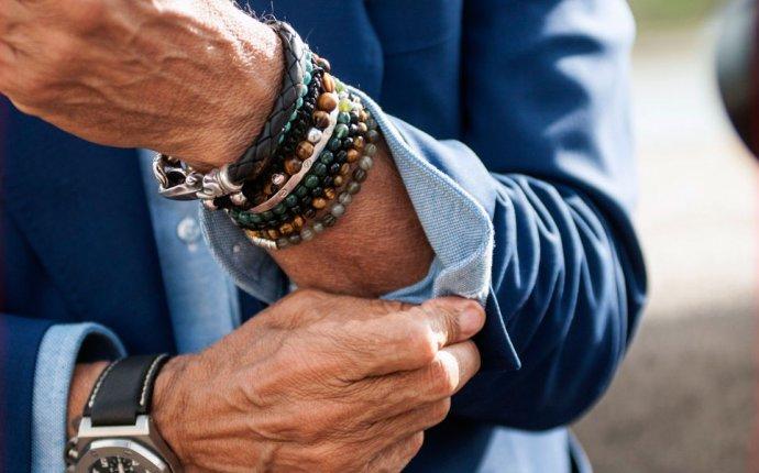 Виды мужских украшений и бижутерии на руку и ювелирной стали